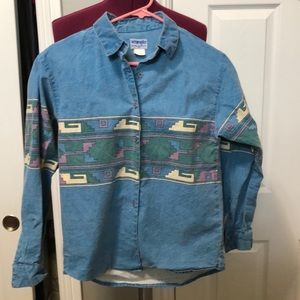 Wrangler Vintage Woman's Rodeo Cowgirl Shirt